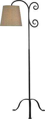 Kenroy Home Morrison Floor Lamp, Bronze Graphite Finish