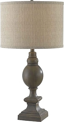 Kenroy Home Andover Table Lamp, Driftwood Finish