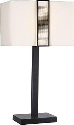 Kenroy Home Gatekeeper Table Lamp, Oil Rubbed Bronze Finish