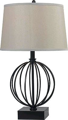 Kenroy Home Globus Table Lamp, Oil Rubbed Bronze Finish