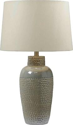 Kenroy Home Facade Table Lamp, Iridescent Ceramic Finish