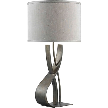 Kenroy Home Canyon Table Lamp, Smoked Bronze Finish