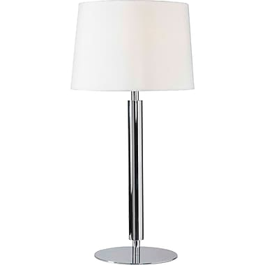 Kenroy Home Milano Table Lamp, Chrome Finish