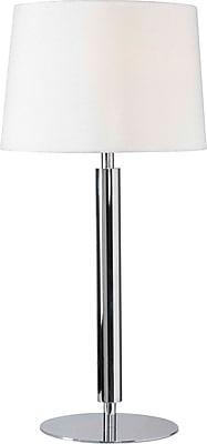 Kenroy Home Milano Table Lamp, Chrome Finish