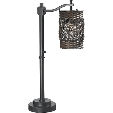 Kenroy Home Brent Outdoor Table Lamp, Oil Rubbed Bronze Finish