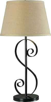Kenroy Home Galaxy Table Lamp, Oil Rubbed Bronze Finish