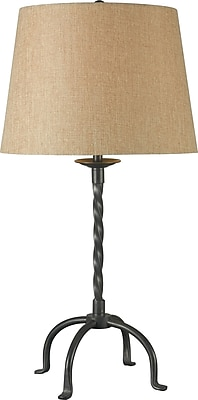 Kenroy Home Knox Table Lamp, Bronze Finish