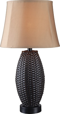 Kenroy Home Sunset Outdoor Table Lamp Bronze Finish Staples