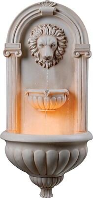Kenroy Home Regal Wall Fountain, Sandstone Finish