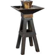 Kenroy Home Kenei Floor Fountain, Copper Bronze Finish