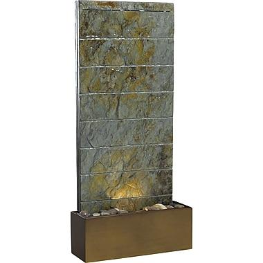 Kenroy Home Brook Floor/Wall Fountain, Natural Slate Finish