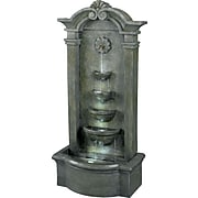 Kenroy Home Sienna Floor Fountain, Mossy Stone Finish