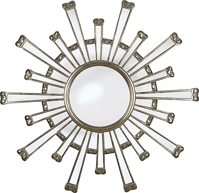 Kenroy Home Cameron Wall Mirror, Silver Finish