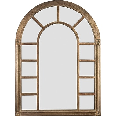 Kenroy Home Cathedral Wall Mirror, Bronze Finish