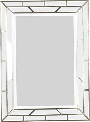 Kenroy Home Lens Wall Mirror, Silver Finish
