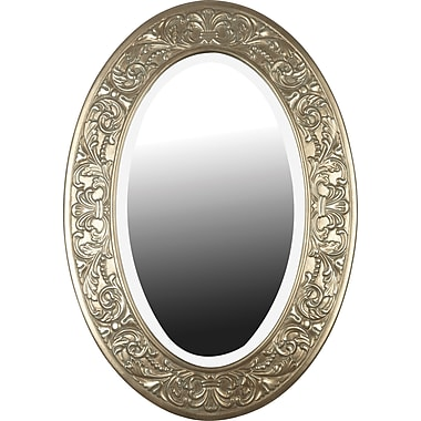 Kenroy Home Argento Wall Mirror, Champagne Silver Gold Finish