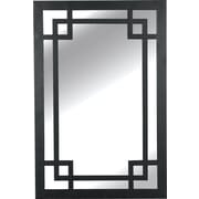 Kenroy Home Jacob Wall Mirror, Dark Rustic Bronze Finish