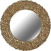 Kenroy Home Seagrass Wall Mirror, Natural Rope Finish