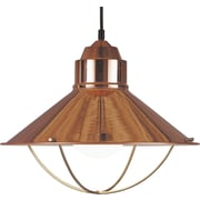 Kenroy Home Harbour 1 Light Pendant, Copper Finish