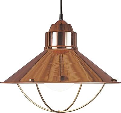 Kenroy Home Harbour 1 Light Pendant, Copper Finish