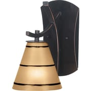 Kenroy Home Wright 1 Light Wall Sconce, Oil Rubbed Bronze Finish