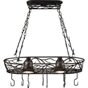 Kenroy Home 2 Light Twigs Pot Rack, Bronze Finish