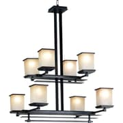 Kenroy Home Plateau 8 Light Chandelier, Oil Rubbed Bronze Finish
