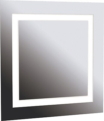 Kenroy Home Rifletta 4 Light Vanity Mirror, Silver Finish