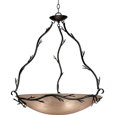 Kenroy Home Twigs 5 Light Pendant, Bronze Finish