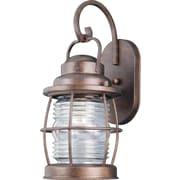 Kenroy Home Beacon Medium Wall Lantern, Gilded Copper Finish