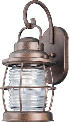 Kenroy Home Beacon Medium Wall Lantern, Gilded Copper Finish