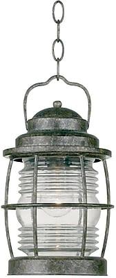Kenroy Home Beacon Hanging Lantern, Flint Finish