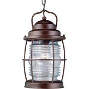 Kenroy Home Beacon Hanging Lantern, Gilded Copper Finish