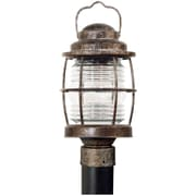 Kenroy Home Beacon Post Lantern, Flint Finish
