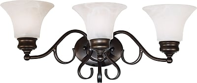 Kenroy Home Wynwood 3 Light Vanity, Burnished Bronze Finish
