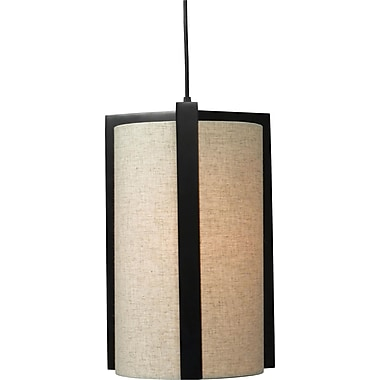 Kenroy Home Teton 1 Light Pendant, Madera Bronze Finish