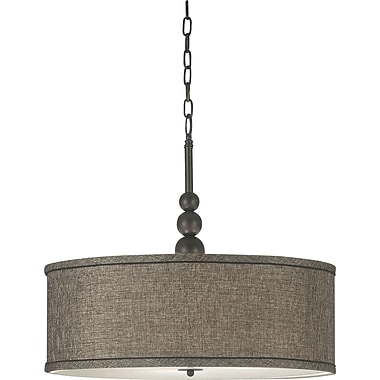 Kenroy Home Margot 3 Light Pendant, Oil Rubbed Bronze Finish