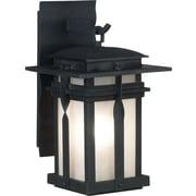 Kenroy Home Carrington 1 Light Large Lantern, Black Finish