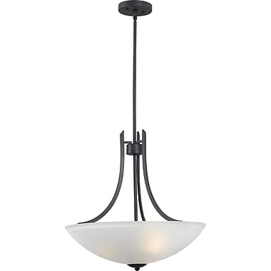 Kenroy Home Mirage 3 Light Pendant, Forged Graphite Finish