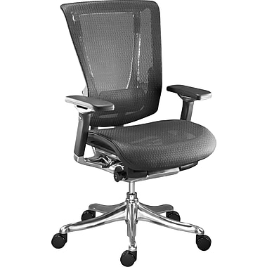 Raynor Nefil Pro Smart Motion Mesh Managers Chair, Tech Black, Retail