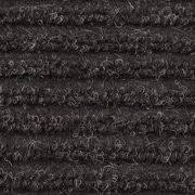 Apache Mills - Ribbed Entrance Mat, 4' x 6' - Charcoal