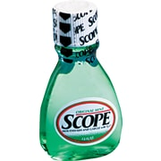 Scope® Mouthwash, Original Mint, 1.5 oz., 180 Bottles/Case