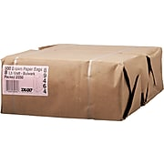 "Boardwalk® Kraft Heavy Duty Paper Bag, 57 lb., 12 7/16"" H x 6 1/8"" W x 4 1/6"" D"
