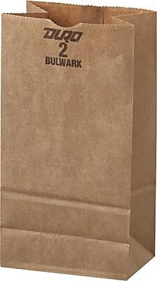 Boardwalk® Kraft Heavy Duty Paper Bag, 50 lb, 7 7/8