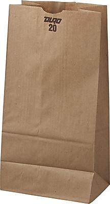 Boardwalk® Kraft Paper Bag, 40 lb, 16 1/8