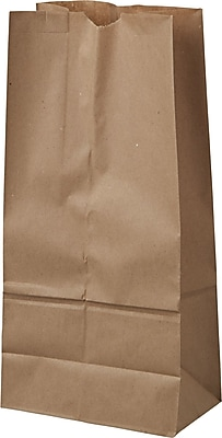 Boardwalk® Kraft Paper Bag, 40 lb, 16