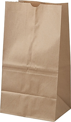 Boardwalk® Kraft Paper Bag, 40 lb, 15 7/8