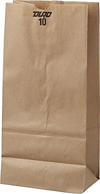 Boardwalk® Kraft Paper Bag, 35 lb, 13 3/8