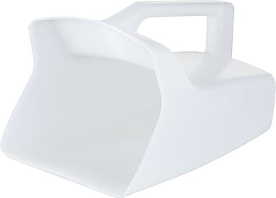Bouncer® Utility Scoop, White, 64 oz