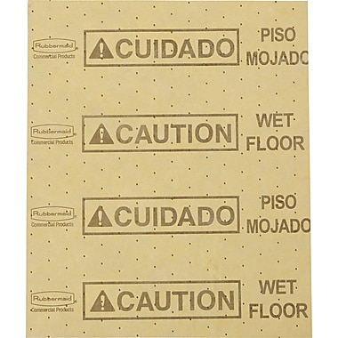 Rubbermaid® Over-the-Spill® 4252YEL Station Large Pad, Yellow